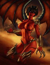 Demongirl by SamSusami