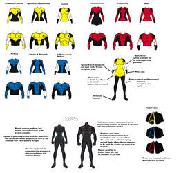 Trek Uniforms by Wierdrocks