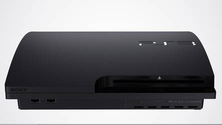 PS3 Slim 3d model by TonyMakesModels