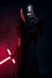 Fem Kylo Ren Masked by beckyalbright
