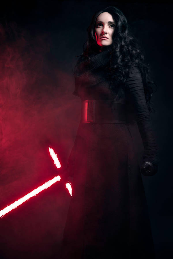 Fem Kylo Ren Unmasked by beckyalbright