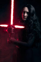 Fem Kylo Ren - Immune to the Light by beckyalbright