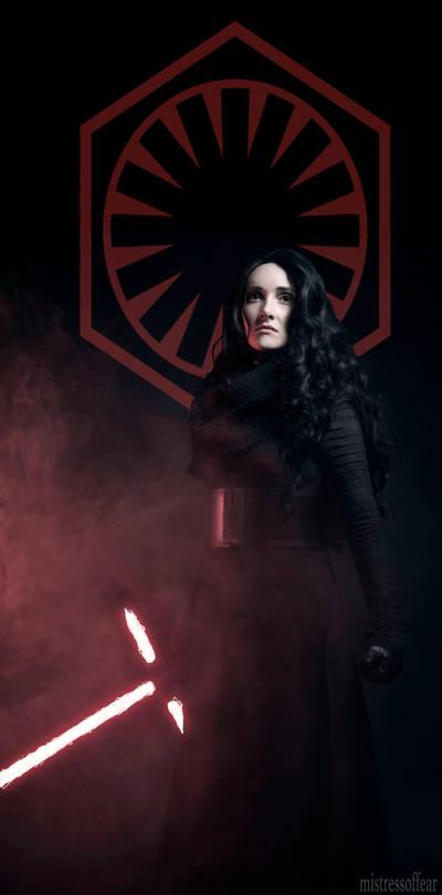 Enforcer for the First Order - Fem Kylo Ren by beckyalbright