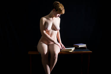 She's a fiction by DaveMylesPhotography