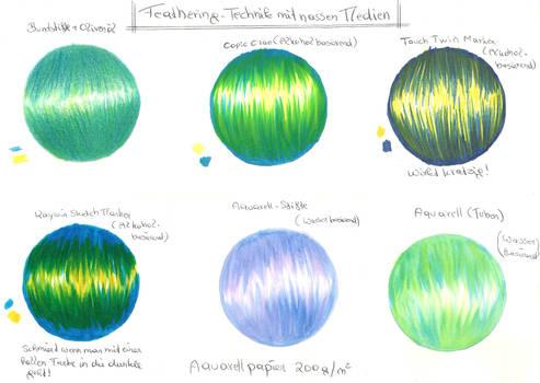 Feathering Technik by ArielPhoenix