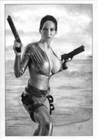 Lara Croft - Tomb Raider by TimGrayson