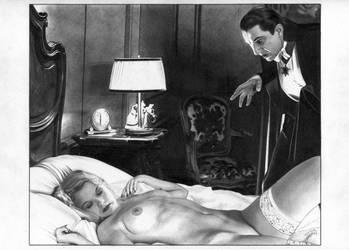 Dracula Bela Lugosi by TimGrayson