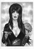 ELVIRA Mistress of the Dark Cassandra Peterson by TimGrayson