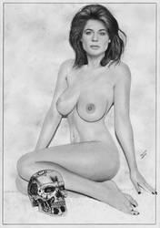 Terminator Sarah Connor by TimGrayson