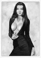 Morticia Addams by TimGrayson
