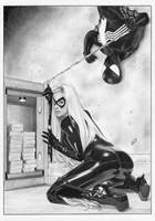 BLACK CAT Felicia Spider-man by TimGrayson