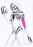 Spider-Gwen Gwenom by TimGrayson