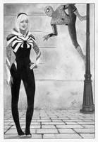 Spider-Gwen Spider-man by TimGrayson