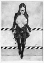 Baroness  GIJoe cobra by TimGrayson