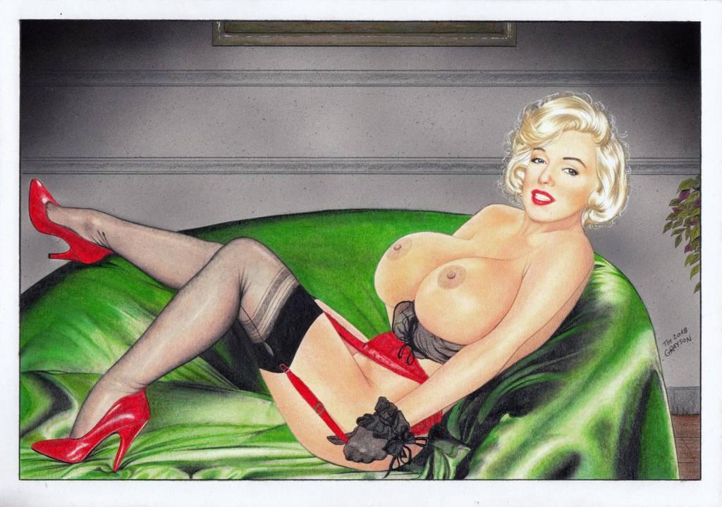 Marilyn Monroe by TimGrayson