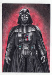 Darth Vader Sketch Card ACEO by TimGrayson