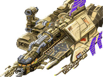 Minmatar Lander Liberator by novafox