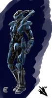 Dust 514, Caldari Katana Crusader Suit, Female by novafox