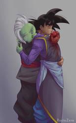 A kiss to the Heart by RocioZero
