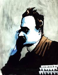Friedrich Nietzsche by Enigmata-the-Hated