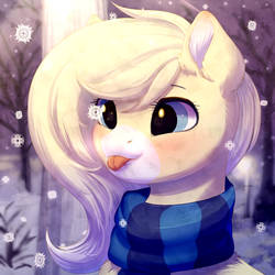 Snowflakes! by PeachMayFlower
