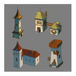Building concepts 4-7 by deerbard