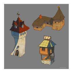 Building concepts 8-10 by deerbard