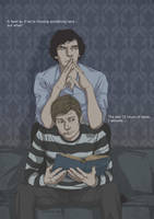 Sherlock and John by Pulvis