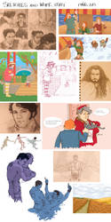 sketches and stuff by Pulvis
