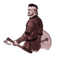 Ragnar Lodbrok sketch by Pulvis