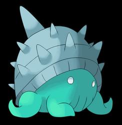 Shelip, the Polyp Fakemon [NEW] by xXDeviousPixelXx