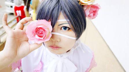 Rose on my eyes by kyomitsu