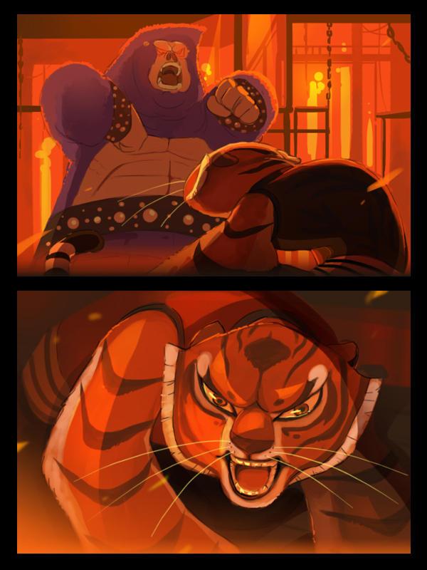 KFP My favorite scene1 by kyomitsu