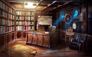 cabine_sketch by WolfeWOLF