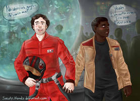 We're Together in the Resistance by Sweety-Wanda