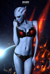 Heroes Fall - Mass Effect Andromeda (2016) by RedLineR91