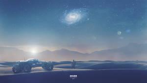 Infinity - Mass Effect Andromeda Wallpaper 4K by RedLineR91