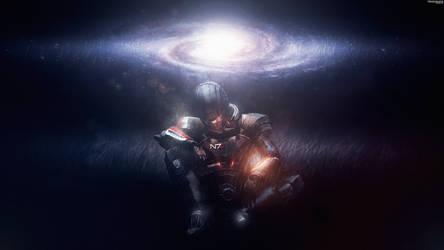 Forever Lost - Mass Effect Trilogy Wallpaper 8K by RedLineR91