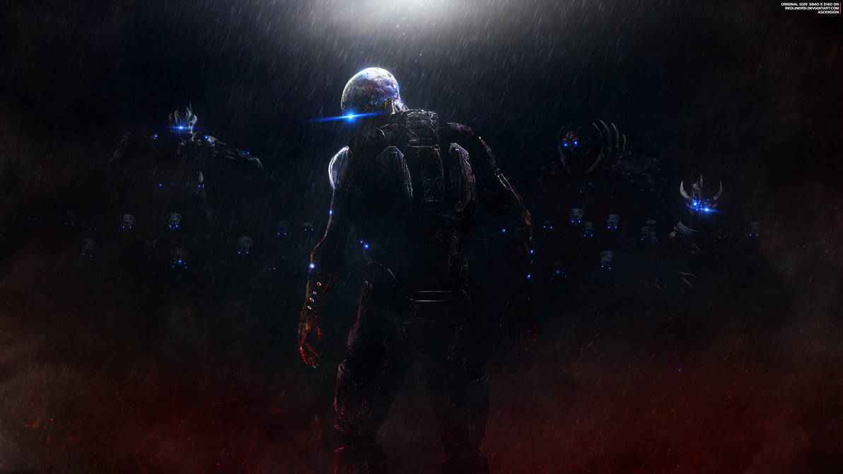 Ascension - Mass Effect Trilogy Wallpaper 4K by RedLineR91
