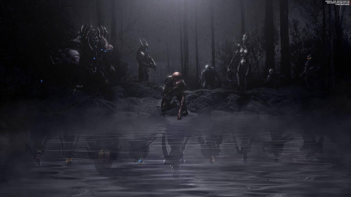 Living Nightmare - Mass Effect Wallpaper 4K by RedLineR91