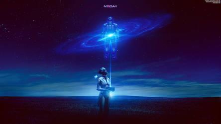 Remember Me - Mass Effect Trilogy N7 Day 4K by RedLineR91