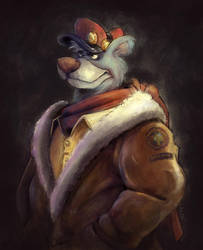 Baloo von Bruinwald XIII by eric3dee