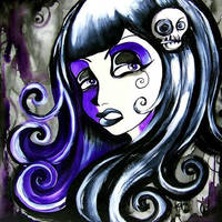 GirlHead by The-Kreep