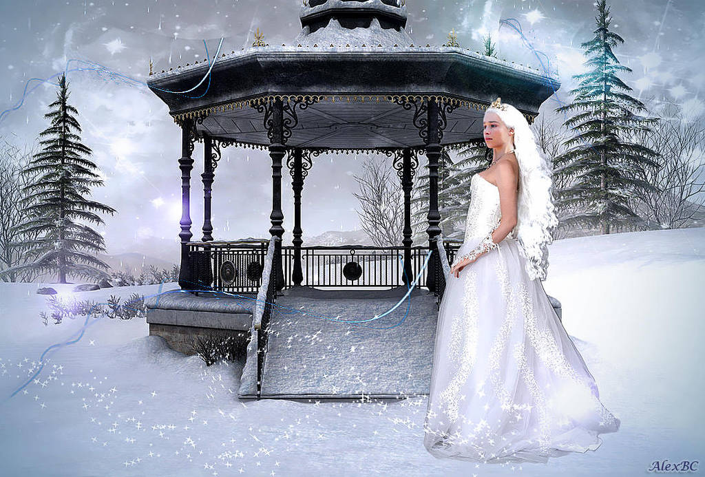 Winter bride Danenerys by asesinasueldo