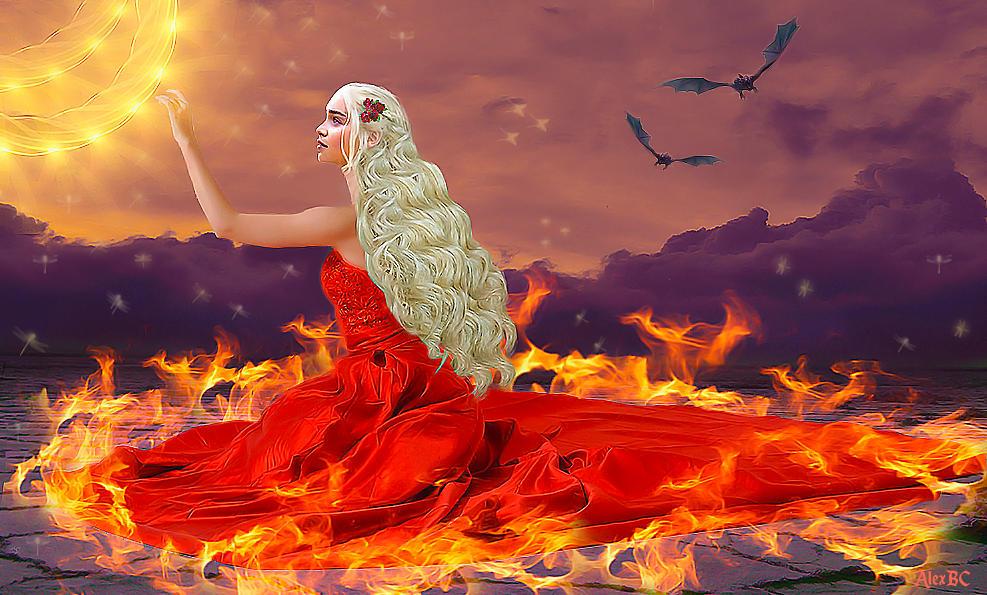 Fire Queen by asesinasueldo