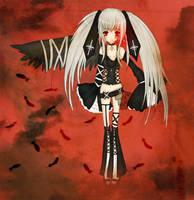 Fallen angel. by Ika-xin