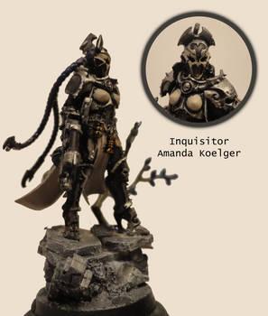 Ordo Xenos Inquisitor Amanda Koelger by FleshcraftKitBash