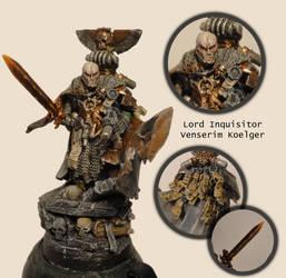 Lord Inquisitor Venserim Koelger by FleshcraftKitBash