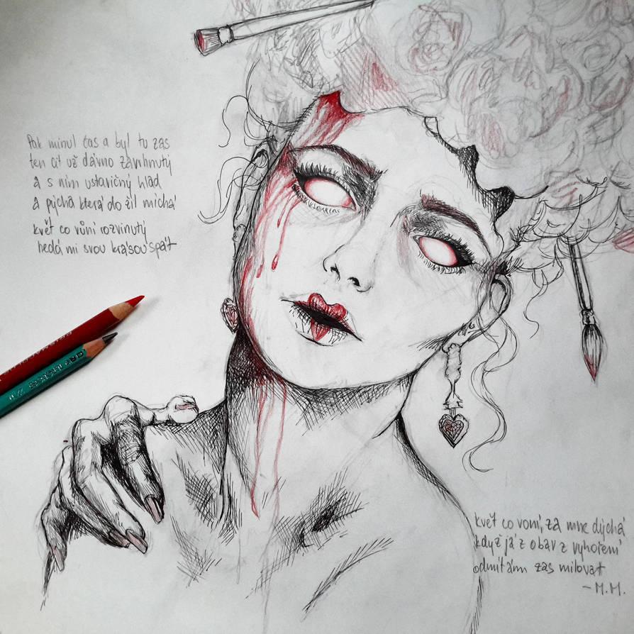 Queen of Hearts (WIP) by Aadavy