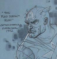 Captain America C2E2 2010 CU by TerryDodson